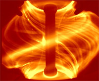 Plazma v tokamaku MAST